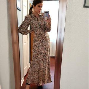 Doen Morisot Zelda print maxi dress XXS
